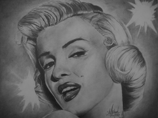 Marilyn Monroe by MichaelTrujillo